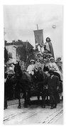 Suffrage Parade, 1913 Bath Towel