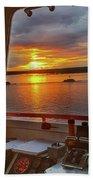 Sugar Islander II Sunrise -0054 Bath Towel