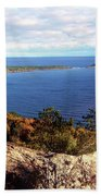 Sugarloaf Mountain In Autumn Hand Towel