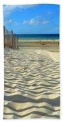 Sultry September Beach Bath Towel