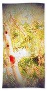 Sumac Tree In The Sunlight Bath Towel