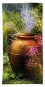 Summer - Landscape - The Urn Bath Towel