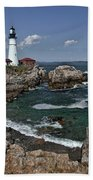 Summer Afternoon, Portland Headlight Bath Towel