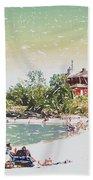 Summer Beach Sunshine Hand Towel