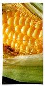 Summer Corn Xl Farm Nature Harvest Bath Towel