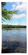 Summer Dreaming On Lake Umbagog  Bath Towel