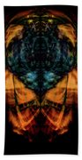 10644 - Summer Fire Mask 44 - The Battle Imp Bath Towel