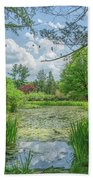 Summer Garden Bath Towel