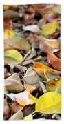 Summer Leaves For Fall Bath Towel