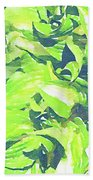Summer Leaves Bath Towel