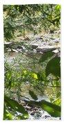 Summer Mountain Creek Bath Towel