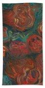 Summer Roses Hand Towel