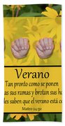 Summer Spanish Hand Towel