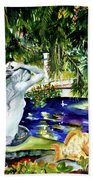 Summer Splendor Bath Towel