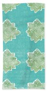 Summer Succulents- Art By Linda Woods Hand Towel by Linda Woods