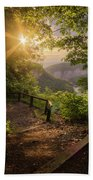 Summer Sunrise Bath Towel