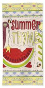 Summer Thyme-jp2832 Bath Towel