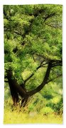 Summer Tree Bath Towel