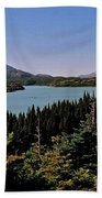 Tagish Lake - Yukon Bath Towel
