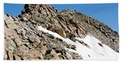 Summiting The Mount Massive Summit Bath Towel