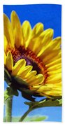 Sun Flower - Id 16235-142812-7136 Bath Towel
