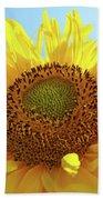 Sun Flowers Art Sunflower Giclee Prints Baslee Troutman  Bath Towel