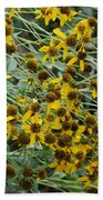 Sun Flowers Bath Towel