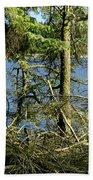 Sun Of The Loch Afternoon. Bath Towel