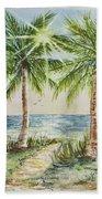 Sunburst Beach Morning Hand Towel