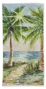 Sunburst Beach Morning Bath Towel