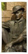 Sundance Kid Statue 4 Bath Towel