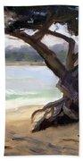 Sunday Afternoon Carmel Beach Bath Towel
