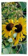 Sunflower 2 Bath Towel