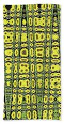 Sunflower #6595ew, Abstract, Bath Towel
