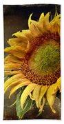 Sunflower Art 2 Bath Towel
