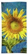 Sunflower Art Hand Towel