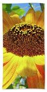 Sunflower Art Prints Sun Flowers Gilcee Prints Baslee Troutman Bath Towel