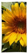 Sunflower Art- Summer Sun- Sunflowers Bath Towel