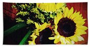 Sunflower Decor 3 Bath Towel