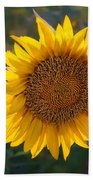 Sunflower - Facing East Bath Towel
