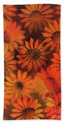 Sunflower Field 1.2 Bath Towel