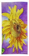 Sunflower Gold Bath Towel