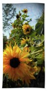 sunflower No.8 Bath Towel