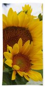 Sunflower Show Bath Towel