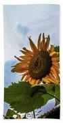 Sunflower Sky Bath Towel