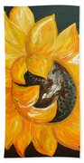 Sunflower Solo Hand Towel
