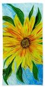 Sunflower Sunshine Of Your Love Bath Towel