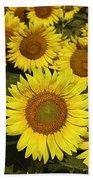 Sunflower Sunshine Bath Towel