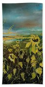 Sunflowers 562315 Bath Towel