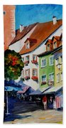 Sunny Meersburg - Germany Bath Towel